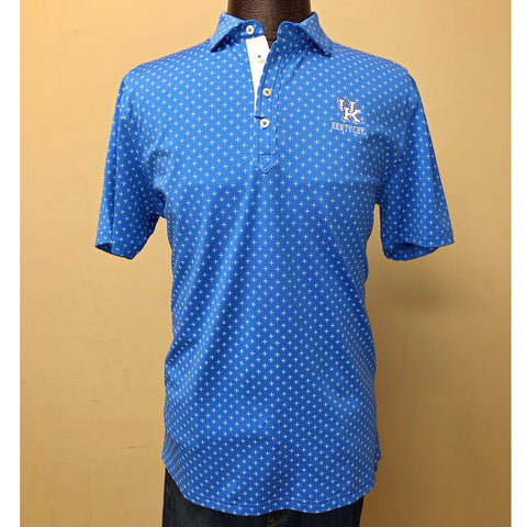 University of Kentucky Hinton Prep-Formance Pique Polo in 2 colors by Johnnie-O