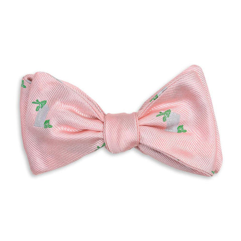 Julep Cup Bow Tie in Pink by High Cotton