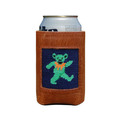 Dancing Bears Needlepoint Koozie by Smathers & Branson
