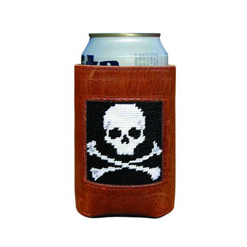 Jolly Roger Needlepoint Koozie by Smathers & Branson