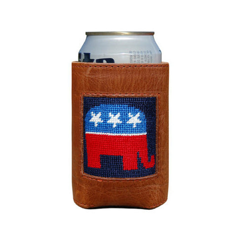Republican Needlepoint Koozie by Smathers & Branson
