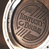 Kentucky Double Bourbon & Cigar Holder in Red Oak by The Kentucky Double