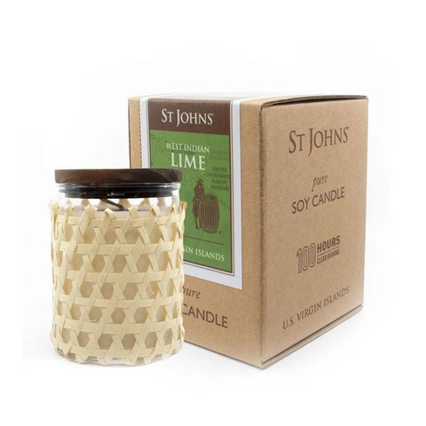 Lime Soy Candle by St. John's Fragrances