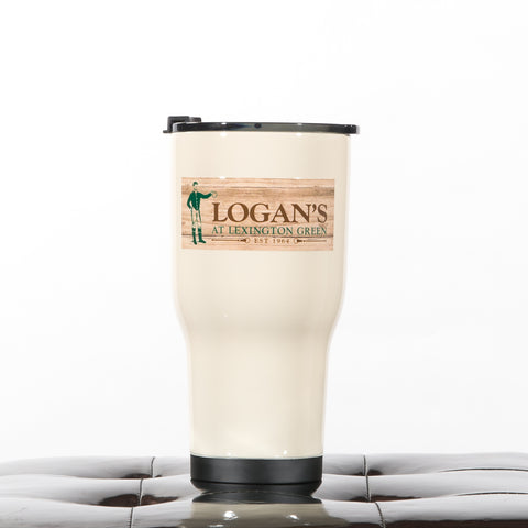 Logan's 30 oz. RTIC Tumbler in Tan by Deluge Concepts