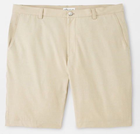 Shackleford Performance Hybrid Short in Beech Wood by Peter Millar