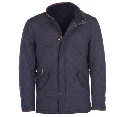 Powell Quilted Jacket in Navy by Barbour