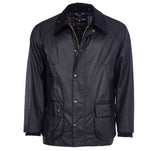 Bedale Wax Jacket in Black by Barbour