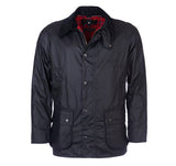 Ashby Wax Jacket in Black by Barbour