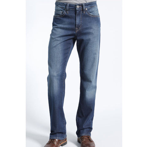 Charisma Relaxed Straight Jean in Mid Cashmere Wash by 34 Heritage