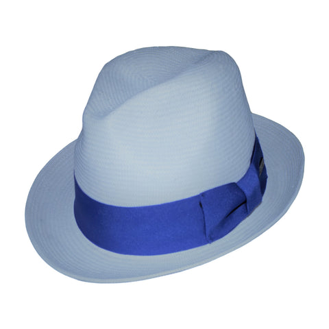 Mike Richter Shantung Hat in Blue by One Fresh Hat