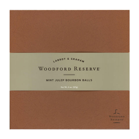 Woodford Reserve Mint Julep Bourbon Balls in Various Assortments from Woodford Reserve