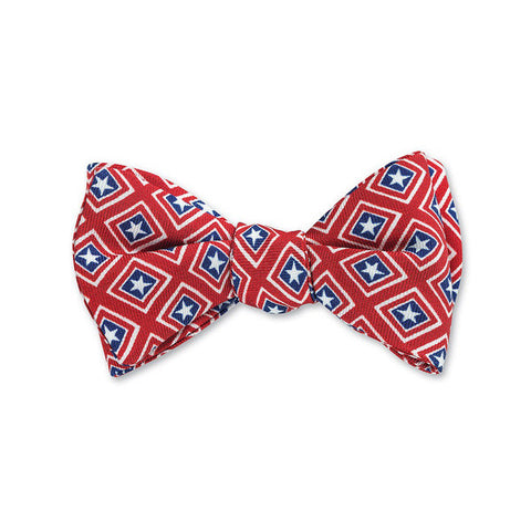 Patriot Bow Tie in Red by R. Hanauer