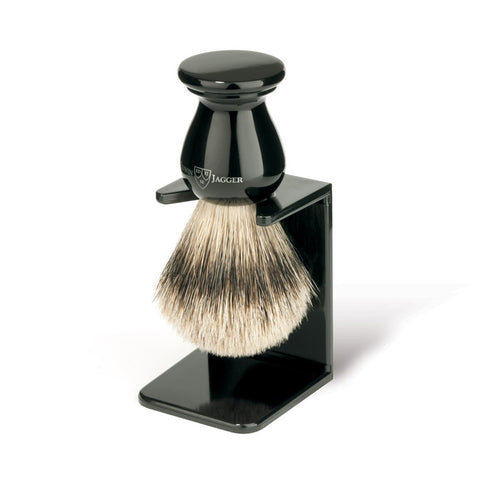 Shaving Brush Stand in Imitation Ebony by Edwin Jagger