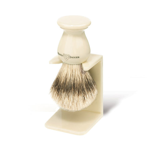Shaving Brush Stand in Imitation Ivory by Edwin Jagger