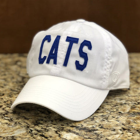Kentucky Wildcats CATS Hat in White by Top of the World