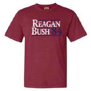 Reagan Bush 84 Tee in Chili Red by Logan's