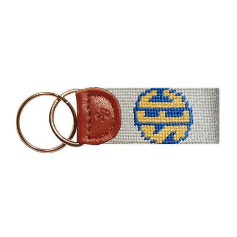 SEC Needlepoint Key Fob by Smathers & Branson