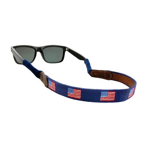 American Flag Sunglass Straps by Smathers & Branson