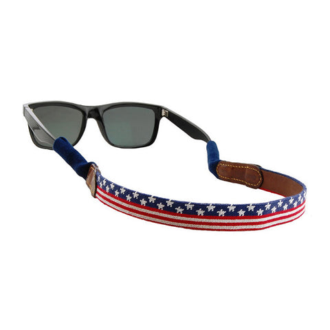 Old Glory Sunglass Straps by Smathers & Branson