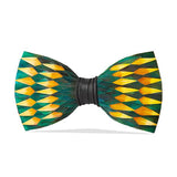 Springfield Feather Bow Tie by Brackish
