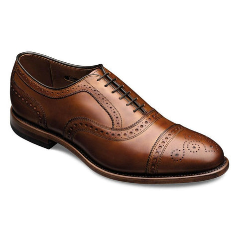 Strand Cap-Toe Lace-Up Oxford Dress Shoe in 4 colors by Allen Edmonds