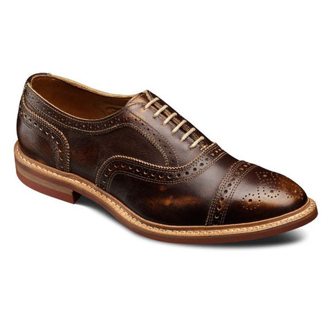 Strandmok Cap-Toe Oxford Shoe in 5 colors by Allen Edmonds
