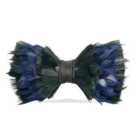 Topsail Feather Bow Tie by Brackish