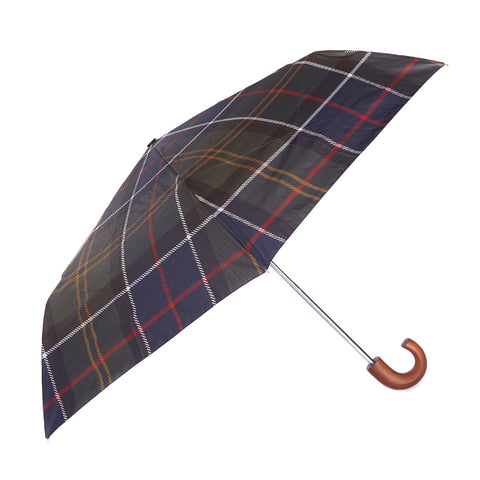 Tartan Mini Umbrella in Classic Tartan by Barbour