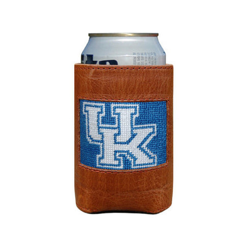 University of Kentucky Needlepoint Koozie in Blue by Smathers & Branson