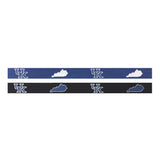 University of Kentucky State Outline Needlepoint Belt in 2 colors by Smathers & Branson