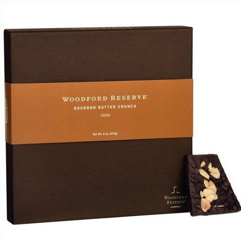 Woodford Reserve Butter Bourbon Crunch in 8 oz. Box from Woodford Reserve