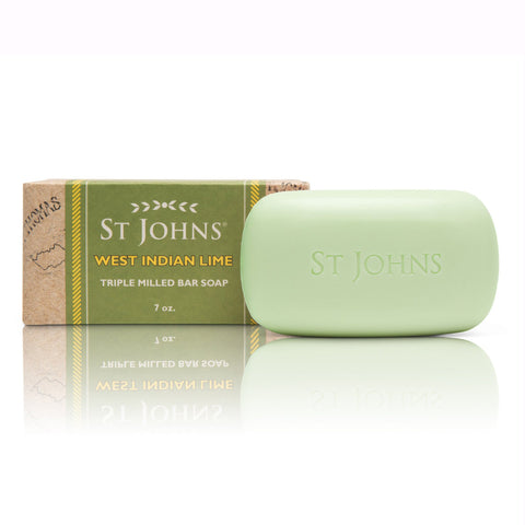 West Indian Lime Body Soap by St. John's Fragrances