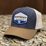 Kentucky Wildcats Wild Trucker Hat in Three-Tone by Top of the World