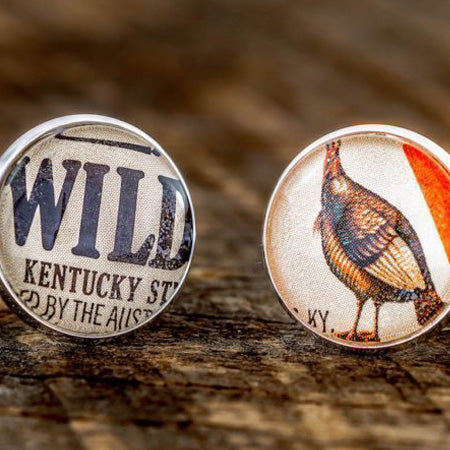 Wild Turkey 1969 Cufflinks by The Best of Kentucky