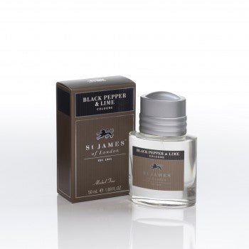 Black Pepper & Lime Cologne by St. James of London