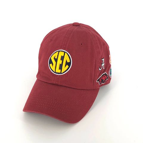 SEC Hat in Crimson by Top of the World