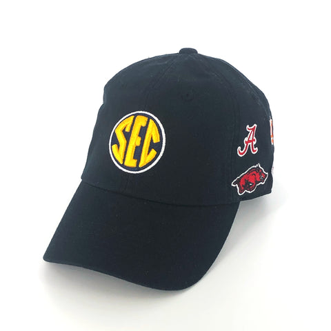 SEC Hat in Black by Top of the World
