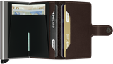 Miniwallet in Original Dark Brown by Secrid