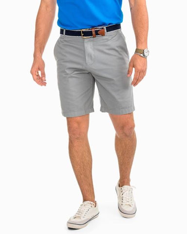 Skipjack 9 Inch Short in Steel Grey by Southern Tide