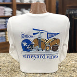 University of Kentucky Vintage Football Long Sleeve Tee by Vineyard Vines