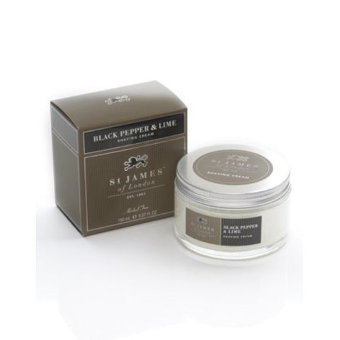 Black Pepper & Lime Shave Jar by St. James of London