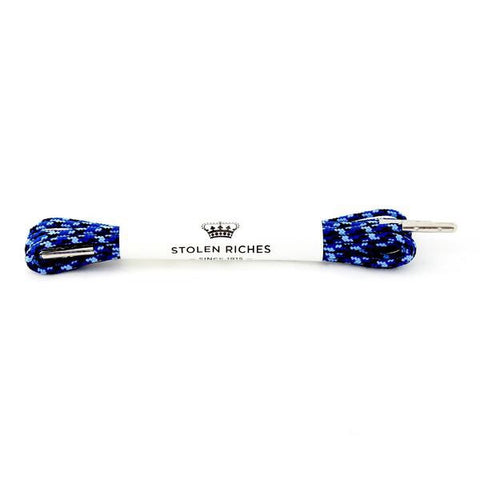 "Camo Blue 32"" Dress Laces by Stolen Riches"