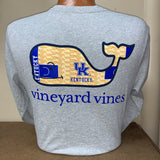 University of Kentucky Rupp Arena Basketball Long Sleeve Tee in 3 Colors by Vineyard Vines