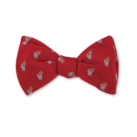 Mint Julep Bow Tie in Red by R. Hanauer