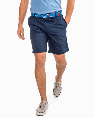 Skipjack 9 Inch Short in True Navy by Southern Tide