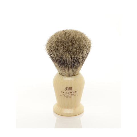 Pure Badger Brush in Ivory by St. James of London