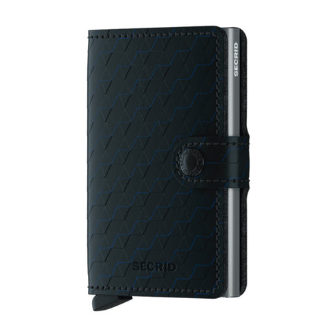 Miniwallet in Optical Black-Titanium by Secrid