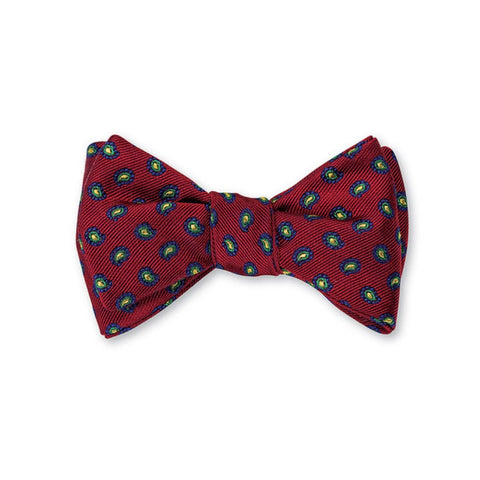 Richmond Pine Bow Tie in Red by R. Hanauer