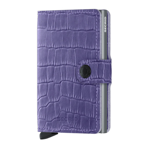 Miniwallet in Cleo Lavender by Secrid