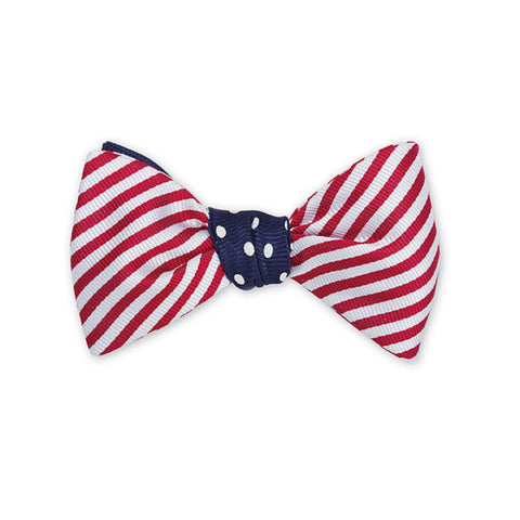 America Bow Tie in Red, White & Blue by R. Hanauer